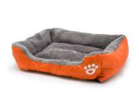 Pelech pro psy a kočky čtyřhranný, oranžový, Domestico