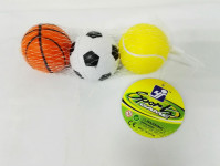 Pěnové míčky v síťce