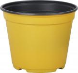 Květináč - kontejner Arca 14 cm - žlutý