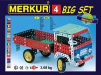 Merkur 4 stavebnice, 602 dílů, 40 modelů - VÝPRODEJ