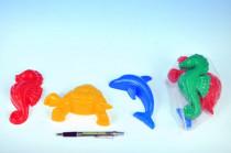 Formičky Bábovky zvířátka plast na písek