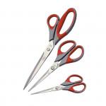 Kancelářské nůžky 21,5 cm - pogumované 1ks/bal/nový kód S927959