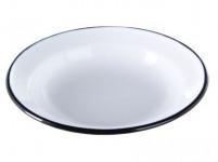 talíř mělký 22cm smalt