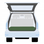 plachta krycí do kufru auta 140x140cm, PE 130g/m2