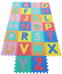 Pěnové puzzle abeceda 26 ks
