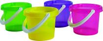 Kyblík transparentní 4 barvy