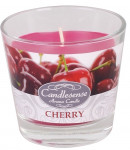 Svíčka sklo - aroma višeň 160 g - 4 ks