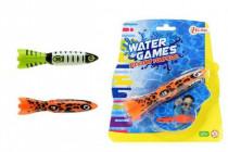 Torpédo na házení do vody 15cm - mix variant či barev