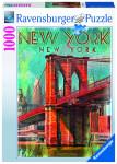 Retro New York; 1000 dílků