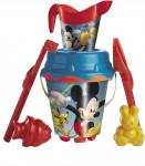 Pískový set Mickey a Minnie s konvičkou