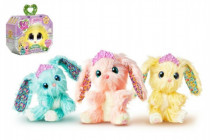 Zvířátko FUR BALLS plyš Touláček králíček s doplňky - mix variant či barev
