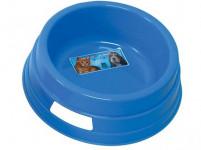 miska pro psa 16cm kulatá plastová - mix barev