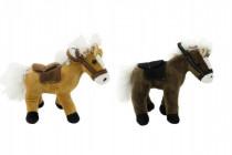 Kůň plyš 20cm 0m+ - mix barev