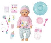 Baby Born Bath Soft Touch holčička s doplňky na čištění zubů