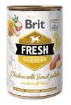 Brit Dog Fresh konz Chicken with Sweet Potato 400g