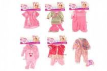 Oblečky/Šaty pro panenky velikosti 30-45cm v sáčku 25x40cm - mix variant či barev