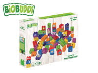 BiOBUDDi stavebnice Learning To Build Young Ones 60 ks