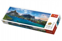 Puzzle Lofoten Archipelago, Norsko panorama 500 dílků 66x23,7cm