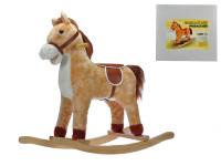 Kůň dřevěný houpací 74x28x65 cm nosnost 30 kg