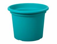 Květník GEO plastový modrý 30x23cm