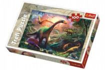 Puzzle Dinosauři 100 dílků 41x27,5cm