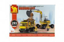 Stavebnice Dromader bagr + nákladní auto 29506