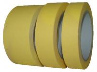 páska krepová 30mmx50m ŽL do 60 stupňů