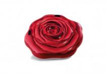 Lehátko červená růže s úchyty 137x132cm