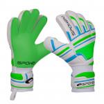 Spokey INTENSE Brankářské rukavice zelené vel. 4