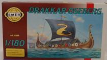 Model Drakkar Oseberg 8,7x12,7cm