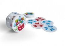 SNEAK PEEK společenská hra v plechové krabičce 9x9cm STRAGOO