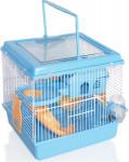 Klec hlod. křeček Grand Villa modrá 21x37x30cm