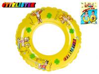 Kruh Čtyřlístek transparentní 50 cm