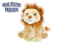 Lev plyšový 25 cm sedící