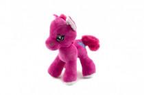 Kůň/koník plyš barevný 20cm