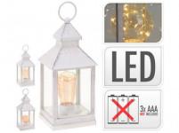 lucerna LED 23x10x10cm sklo/PH BÍ - mix variant či barev