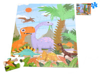 Puzzle dino 60x44 cm 35 dílků