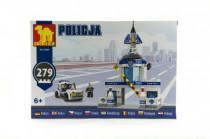 Stavebnice Dromader Policie Stanice+Auto