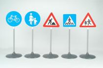 Dopravní značky 2 72 cm