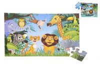 Puzzle jungle 60x44 cm 35 dílků