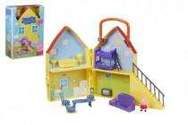 Prasátko Peppa/Peppa Pig plast domeček s figurkou s doplňky