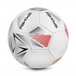 Spokey STENCIL Fotbalový míč vel. 5 bílo-červený