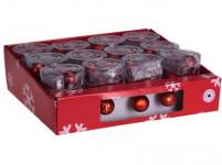 osvětlení vánoční 1,7m pr.4cm 10LED teplá BÍ-ČRV - mix variant či barev