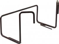 Držák na truhlík balkon - kovový Fantazie hnědý