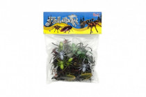 Zvířátko/hmyz plast 5-10cm