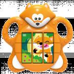 Puzzle s liškou
