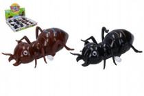 Mravenec na klíček plast 11cm - mix barev