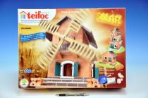 Stavebnice Teifoc Mlýn - solární pohon