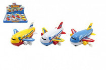 Letadlo na klíček plast 10cm - mix variant či barev