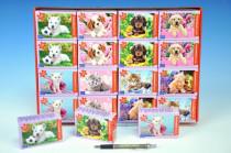 A-08521-Z Minipuzzle zvířátka 54 dílků - mix variant či barev